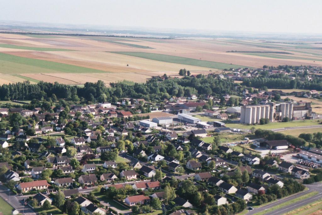 Les lotissements et la zone industrielle